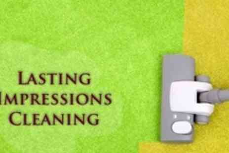 Lasting Impressions - Carpet Cleaning For Three Rooms - Save 78%