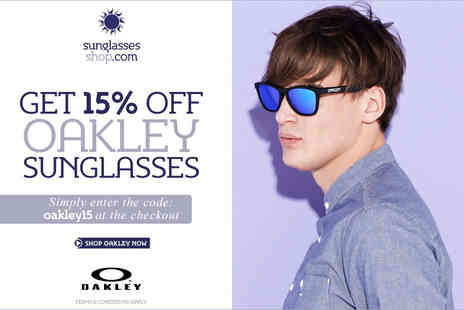 Oakley - 15% off oakley sunglasses - Save 15%