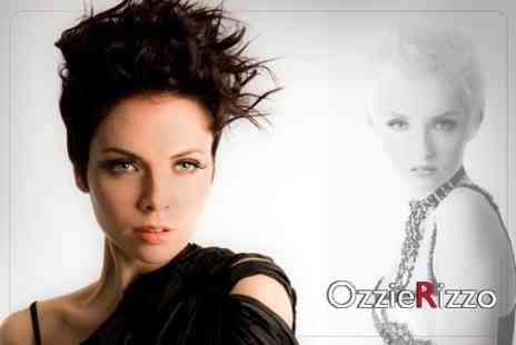 Ozzie Rizzo - Hair Colour Options With Wash, Cut and Blow Dry with a Senior Stylist for £59 - Save 73%