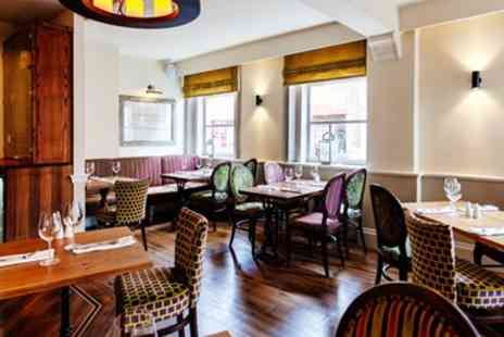 Darwins Restaurant - Lichfield Coaching Inn 2 Course Meal with Drinks for 2 - Save 58%
