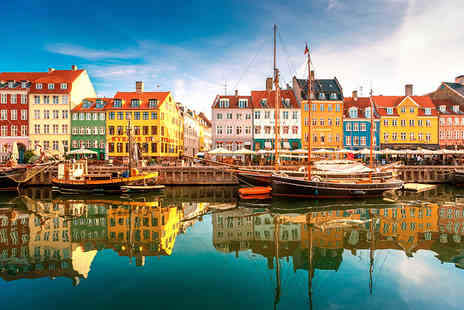 ClearSky Holidays - Two or Three night Copenhagen break including flights and a canal cruise option - Save 41%