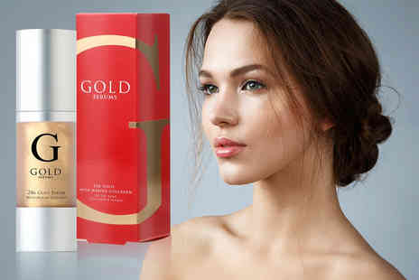 Gold Serums - Gold marine anti ageing collagen face serum - Save 91%