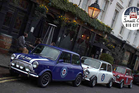 Small car big city - The Italian Job Tour of London - Save 0%