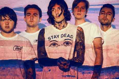 Bring Me The Horizon Live - Tickets to Bring Me The Horizon on 31 October to  8 November - Save 0%