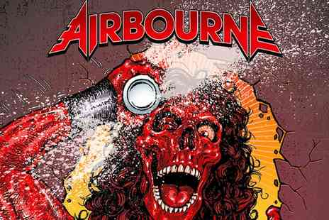 Airbourne Live - Tickets to Airbourne Live on 21 to 29 November - Save 0%