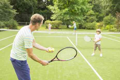 Cambridge Tennis Academy - Four Tennis Lessons - Save 63%