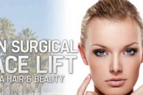 La Hair & Beauty - Give yourself a lift with 73% off a course of CACI non-surgical facelifts - Save 73%