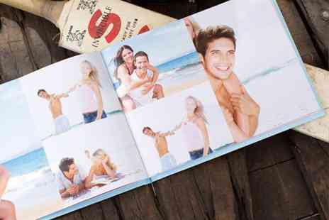 Huggler - Personalised 50 page hardback photo book - Save 73%