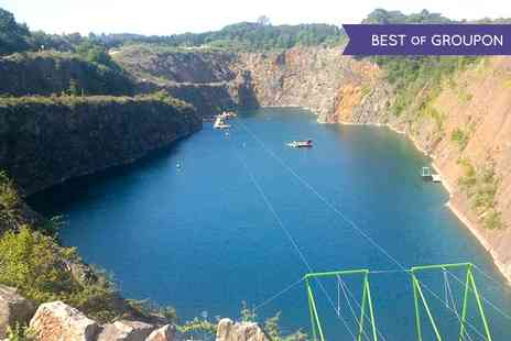 National Dive Centre - 700m Zip Slide Ride For One or Two - Save 50%