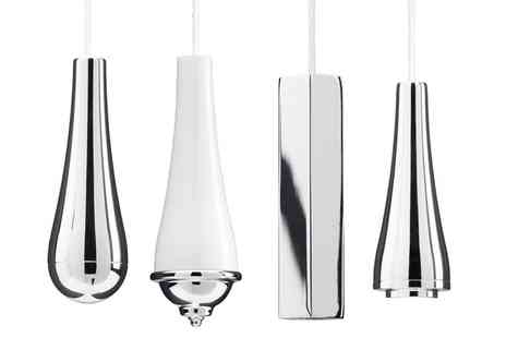 Groupon Goods Global GmbH - Croydex Chrome and Ceramic Light Pulls - Save 0%