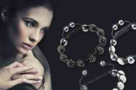 Bo Vida - Three crystal bracelets available in 12 different colours - Save 87%