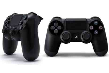GoldBoxDeals - Sony PlayStation DualShock Four Jet Black Controller With Free Delivery - Save 0%