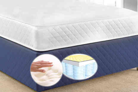 Prestige Nursery Mattresses - A single luxury CoolTouch memory and spring mattress - Save 82%