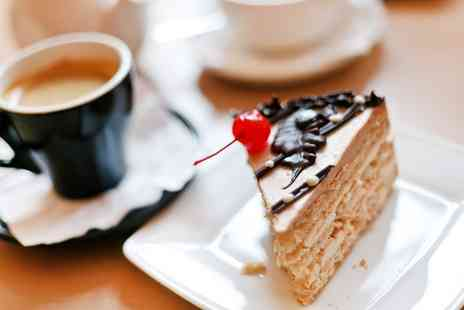 Miss Coffee - Hot Drink and Cake for Two or Four - Save 0%