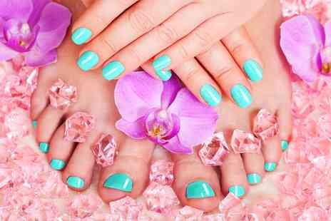 Be You - Shellac Manicure or Pedicure - Save 47%