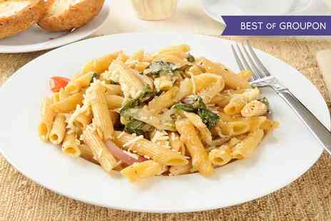 Lucca Bar & Kitchen - Pasta, Risotto or Pizza and Side for Two or Four - Save 45%