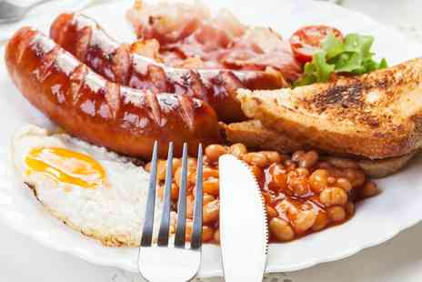 The Grapes - English Breakfast for Two or Four - Save 50%