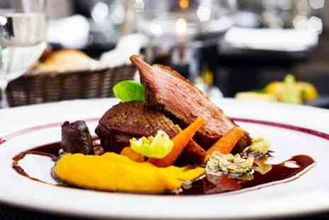 The OHH Pub Company - Two Course Lunch & Wine for 2 - Save 53%