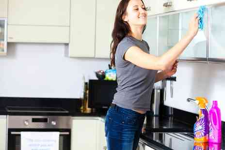 Housekeep - House Cleaning Service One or Three Sessions - Save 36%