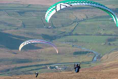 SunSoar Paragliding - Solo Paragliding Taster Experience for One or Two People - Save 55%