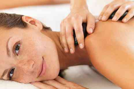 Brown Cow Salon - Hot Stone Massage Plus Facial For One or Two - Save 59%