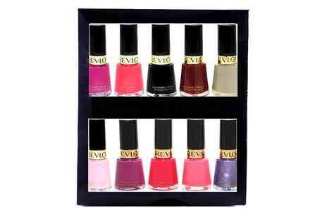 Groupon Goods Global GmbH - 10 Revlon Nail Polishes - Save 82%