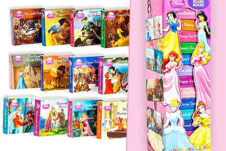 Dream Price Direct - Disney princess 12 board book collection - Save 50%