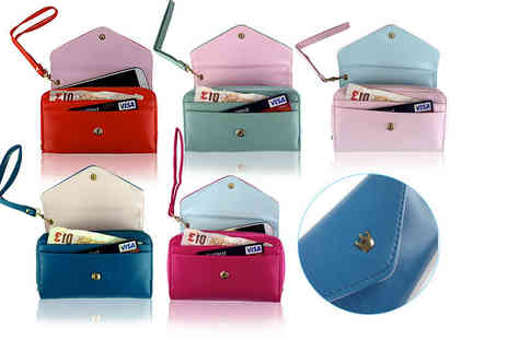 eTrading Group - PU leather smartphone purse choose from five colours - Save 0%