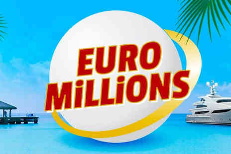 Lotto Plus - EuroMillions Syndicate 4 Draws for 100 Lines - Save 68%