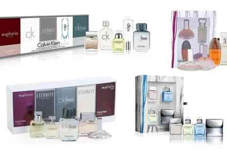 Groupon Goods Global GmbH - Calvin Klein Miniature Sets - Save 23%