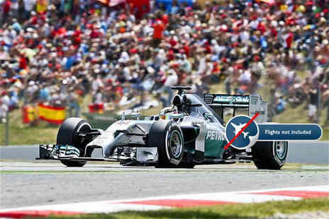 Independent World Choice Holidays - Two nights, breakfast and tickets to a Formula One Grand Prix - Save 0%