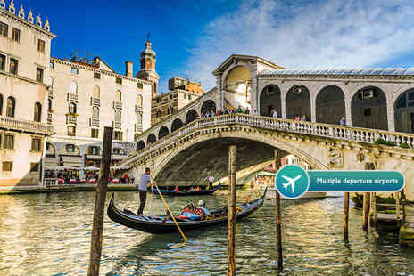 Weekender Breaks - Four night Venice and Rome break including flights and train transfers - Save 50%