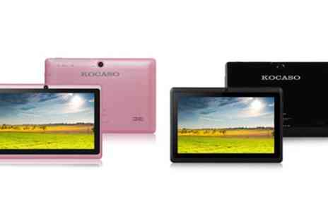 Groupon Goods Global GmbH - Kocaso M752H 7 Inch 4GB Android Tablet With Free Delivery - Save 0%