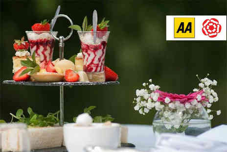 Quorn Country Hotel - Afternoon tea for two people - Save 0%