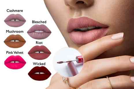 Glamour Shop - A set of six matte liquid lipsticks - Save 68%