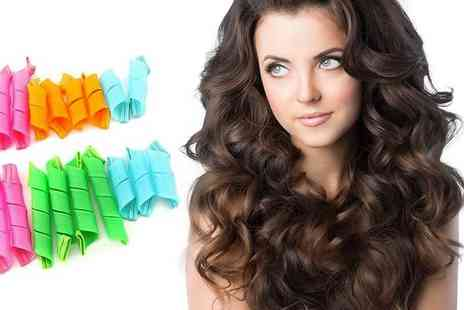 Tee Em - Eighteen magic hair curlers - Save 68%