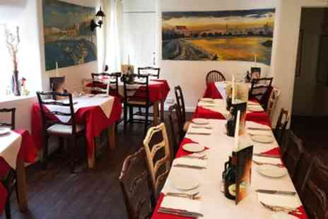 Mamma Mia - Italian Two Course Meal for Two or Four - Save 39%