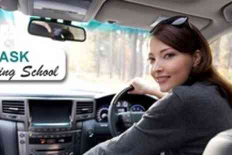 Ask Driving School - Three Hours of Driving Lessons With Online Theory Training - Save 60%