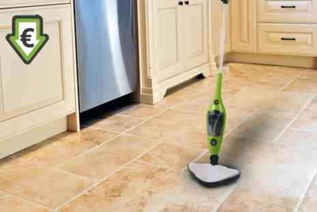 Groupon Goods Global GmbH - 10 in 1 Steam Mop Cleaner With Free Delivery - Save 0%