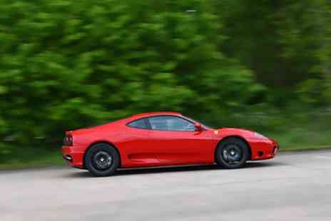 Ferrari 360 F1 - Junior Ferrari Driving Experience in November or January - Save 62%