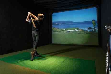 Lets Golf - One Hour Golf Simulator Hire for Up to Six - Save 20%