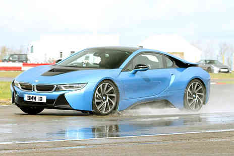Supercar Test Drives - Three lap BMW i8 experience - Save 0%
