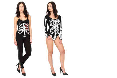 Stitch Trading - Halloween skeleton womenswear - Save 33%