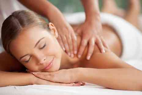 Mirlinda Hair & Beauty - Back, Neck, Shoulder 30 Min, Deep Tissue or Hot Stone Massage - Save 60%
