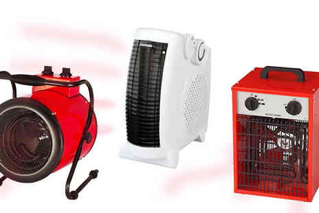 A2BShopping  - Portable Fan Heater in 3 Models - Save 0%
