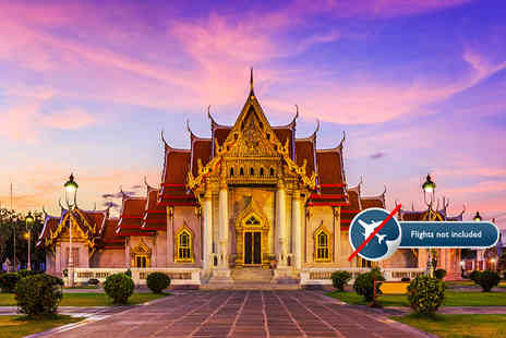 Destination Services - Seven night Treasures of Thailand tour including breakfast, English speaking guides and transfers - Save 0%