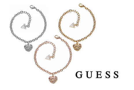 Class Watches - Silver plated heart bracelet or rose gold or a gold plated heart bracelet - Save 58%