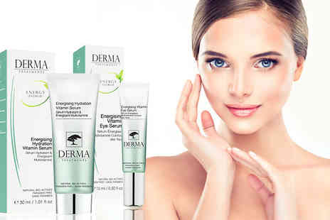 Skin Chemists - Hydrating multivitamin serum or The eye contour serum both - Save 88%