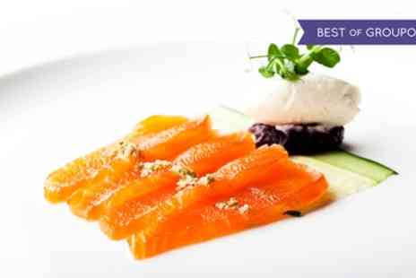 Five Star London Hilton - Three Course A La Carte Meal with a Bottle of Wine to Share - Save 59%