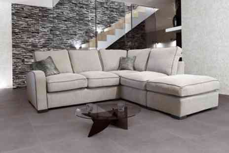Groupon Goods Global GmbH - Hula Formal or Scatter LH or RH Corner Sofa with Storage Footstool With Free Delivery - Save 55%